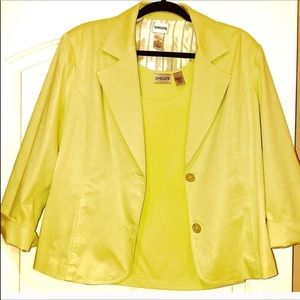 🎈Chico's Blazer with Matching Camisole